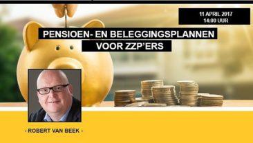 Pensioen- en beleggingsplannen zzp'ers