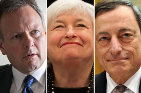 De verloren strijd van de centrale banken