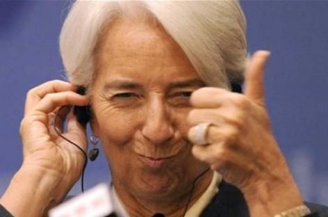 Lagarde (IMF) voorspelt tegenvallende groei 2016