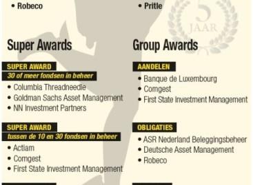 vwd cash Fund Awards: diamanten van de fondsenindustrie