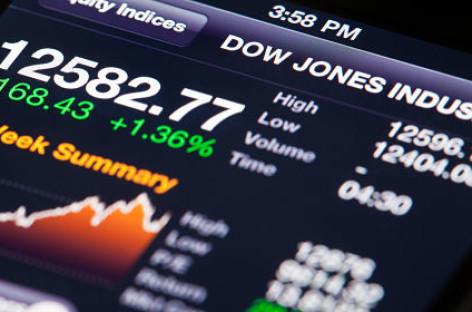 Top-10 Dow-aandelen op dagbasis (Let op Nike)