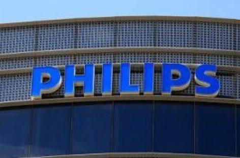 Wat gaat Philips doen na 4 dagen met koersverlies