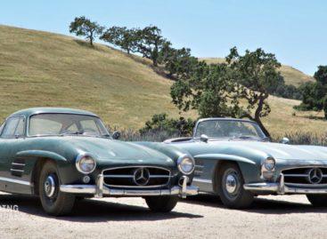 Twee sensationele 300 SL's duiken op na 50 jaar in een garage te hebben gestaan!