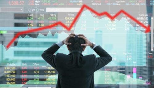 Daling op de aandelenmarkten is een incident