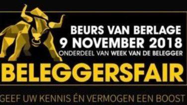 BeleggersFair 2018: Save the date!