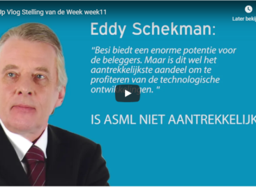 Vlog: Welk aandeel is aantrekkelijker, Besi of ASML?