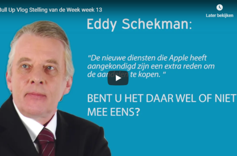 Eddy Schekman: Extra reden om Apple aandelen te kopen