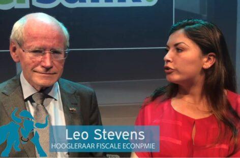 Vlog: Leo Stevens bepleit adequaat belastingssysteem voor beleggers