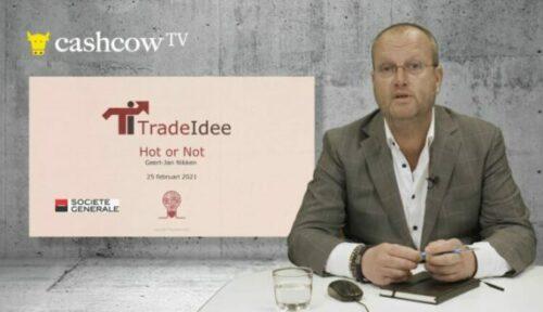 Geert-Jan Nikken op Cashcow TV: Oppassen voor AEX, S&P, Galapagos en ASMI