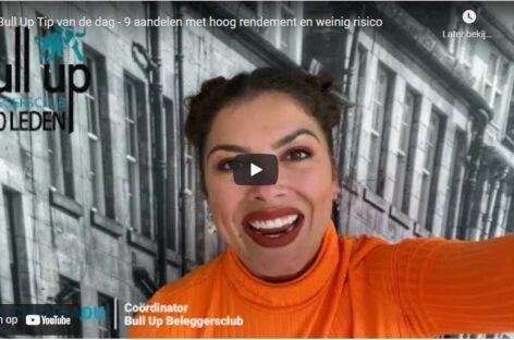 Vlog: 9 aandelen met hoog rendement en weinig risico